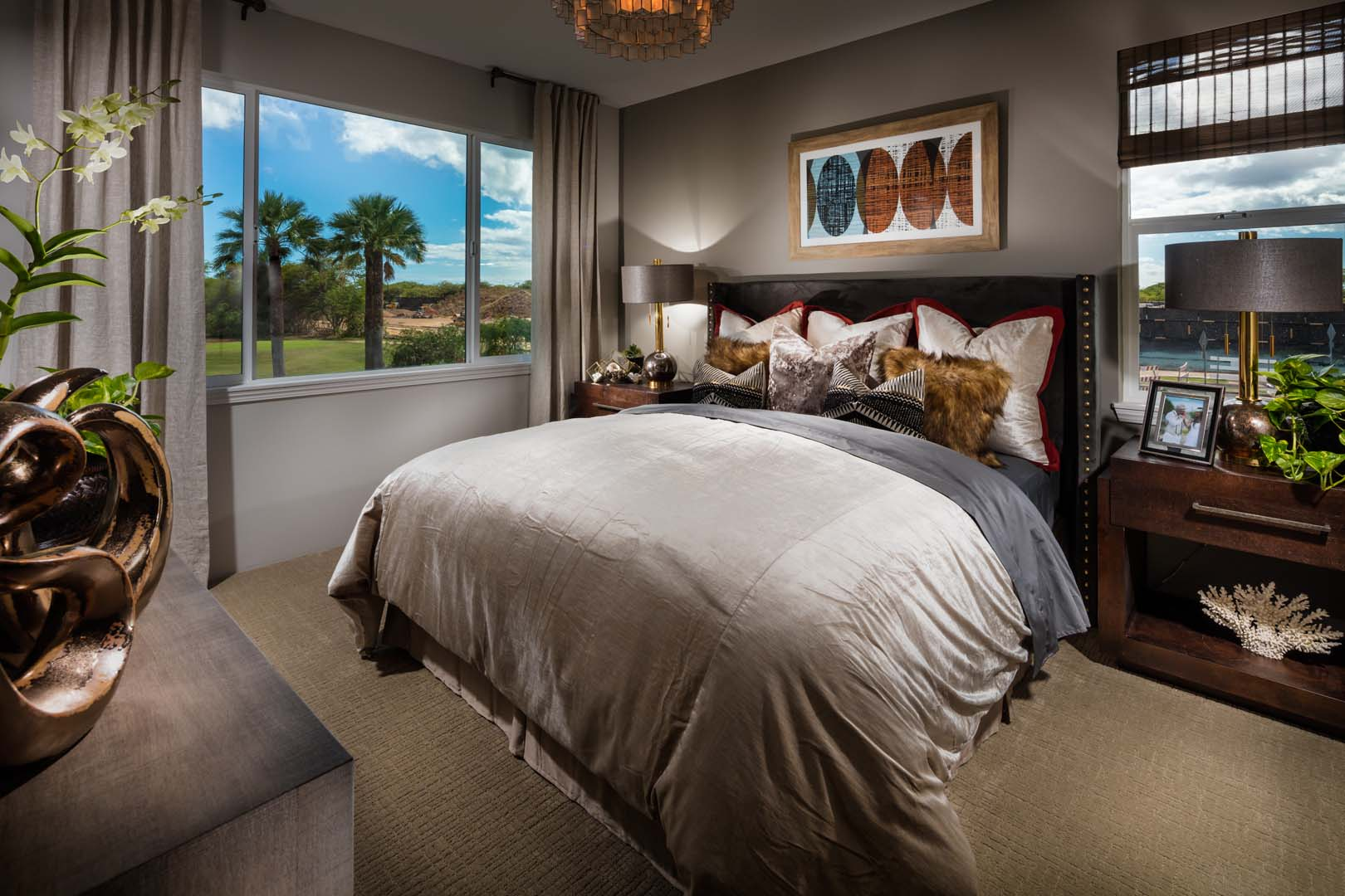 Coral Ridge Plan 4 - Master Bedroom