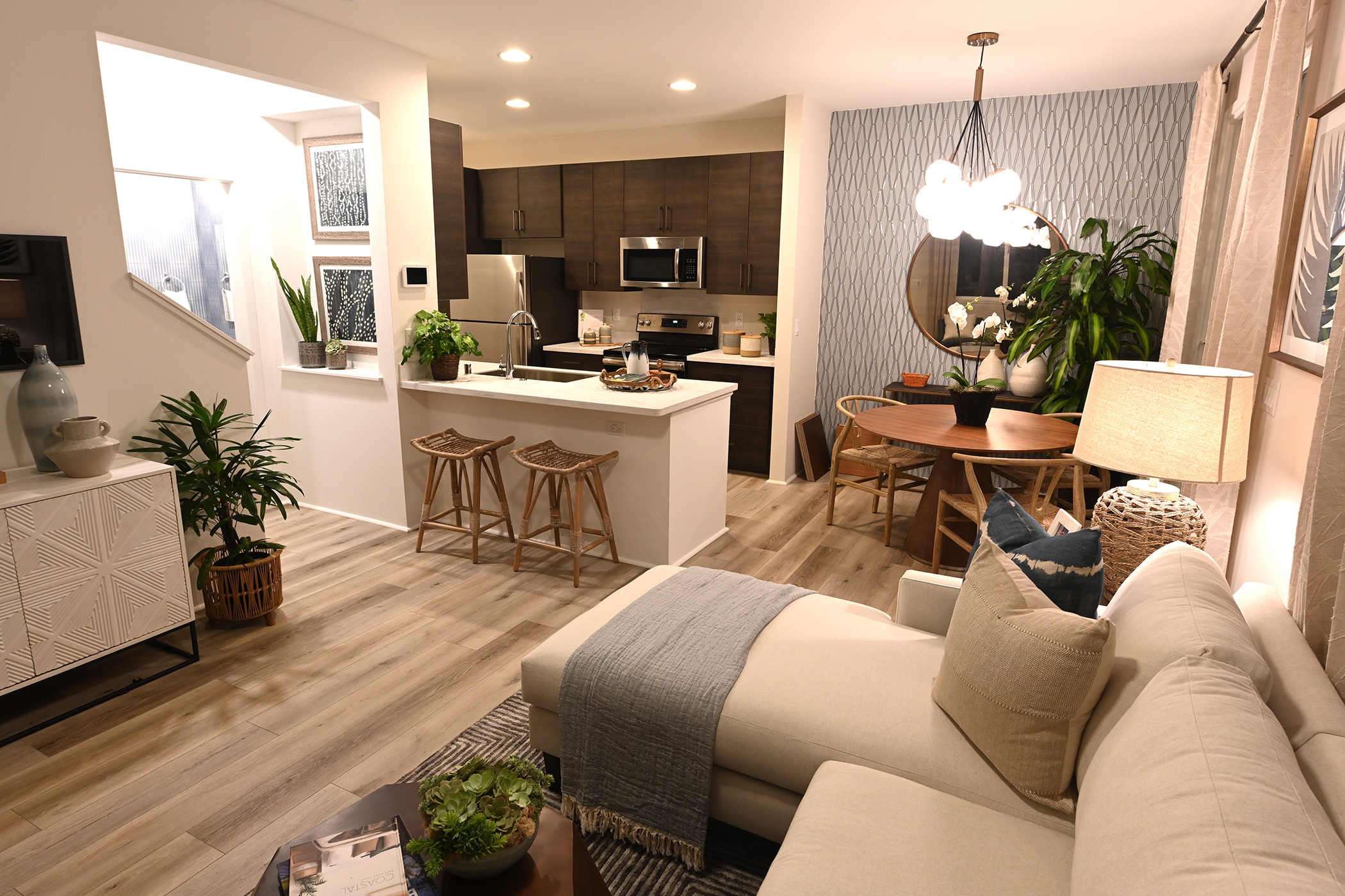 NorthPark Plan 1 - Kitchen & Living Room