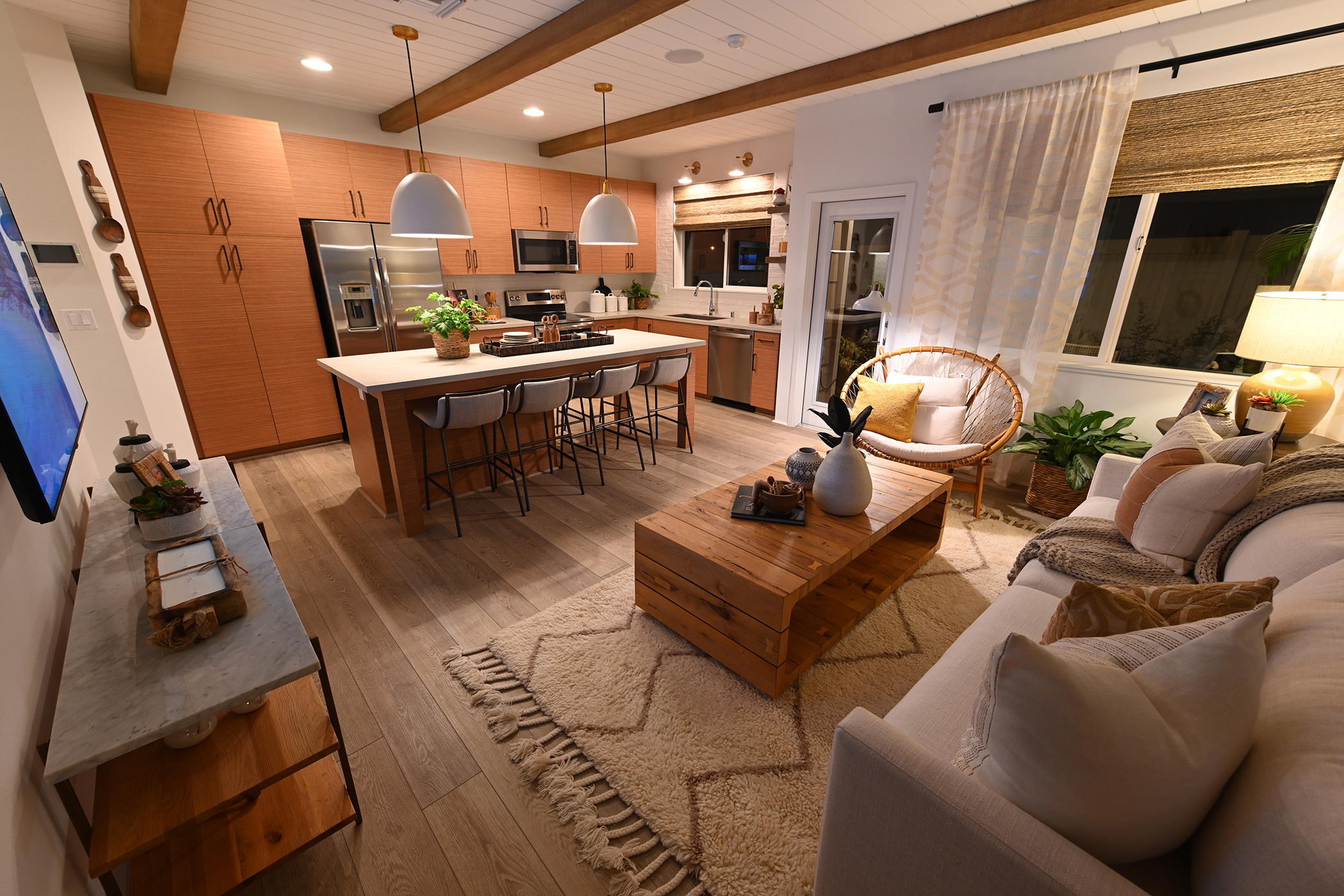 NorthPark Plan 2 - Kitchen and Living Room